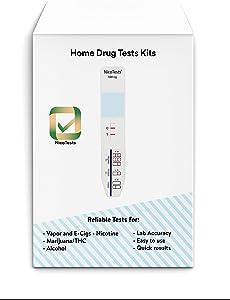 NicoTests® Saliva Vapor Test (10)