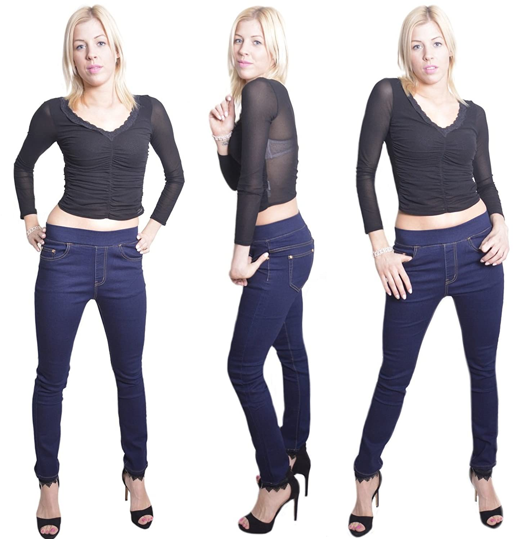 321 Damen Jeans Hose  Damenjeans Damenhose Übergröße Stretch 40-50