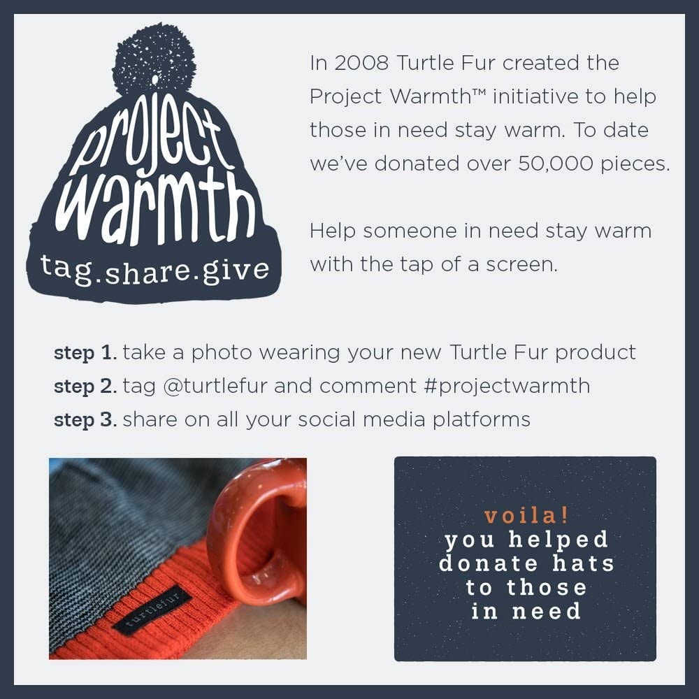 Turtle Fur Double-Layer Midweight Micro Fur Fleece Neck Warmer