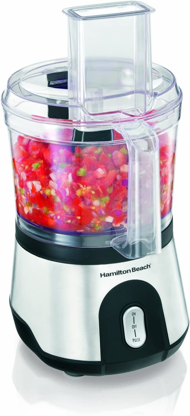 Hamilton Beach 10-Cup Food Processor Vegetable Chopper with Compact Storage 70760