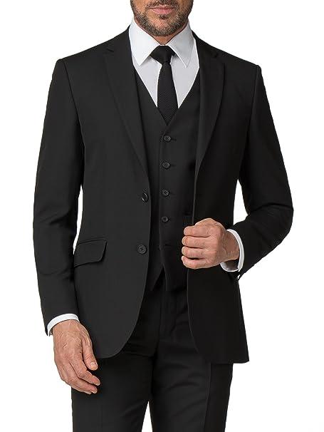 70557b761b2 Scott   Taylor Men s Black Suit Jacket in 36R to 50R Black 54R ...