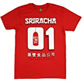Rex Distributor Sriracha Mens Hot Chili Awesome Sauce Number #1 01 Jersey T-Shirt