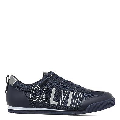 Calvin Klein - Zapatillas para hombre azul turquesa azul Size: 40 wMGgVNz2LT
