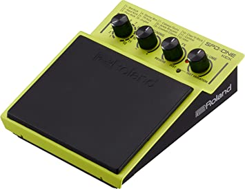 Roland Percussion Electronic Drum Pad, Kick, Yellow (SPD-1K)