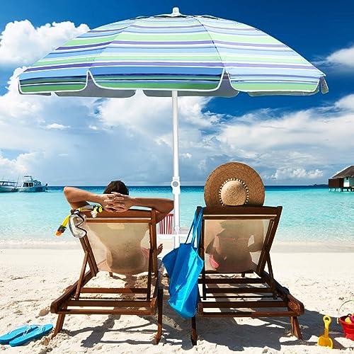 Aclumsy 7ft Beach Umbrella