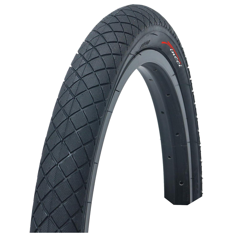 Fincci Set 20 x 1,95 Pulgadas 53-406 Cubierta con C/ámara de Aire Schrader V/álvula Interior para BMX o Ni/ños Bici Bicicleta