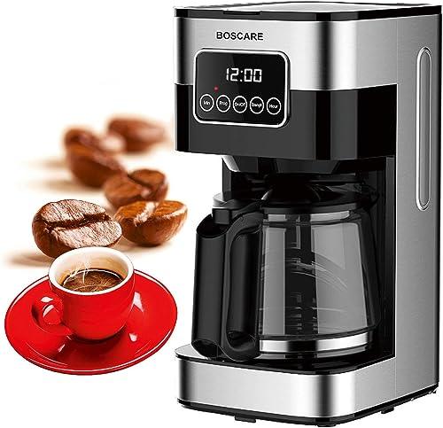 BOSCARE 10 cup Programmable Coffee Maker CM1429TA-UL