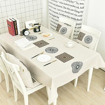 Nappe De Table Nappe Nordique Epaisse En Coton Style Minimaliste