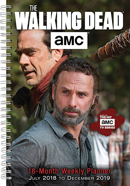 Agenda 2019 The Walking Dead - serie - muerte viviente ...