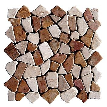 M 004 Marmor Mosaikfliesen Naturstein Bad Fliesen Lager Verkauf