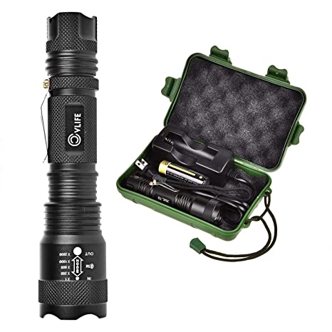 Review CVLIFE LED Tactical Flashlight