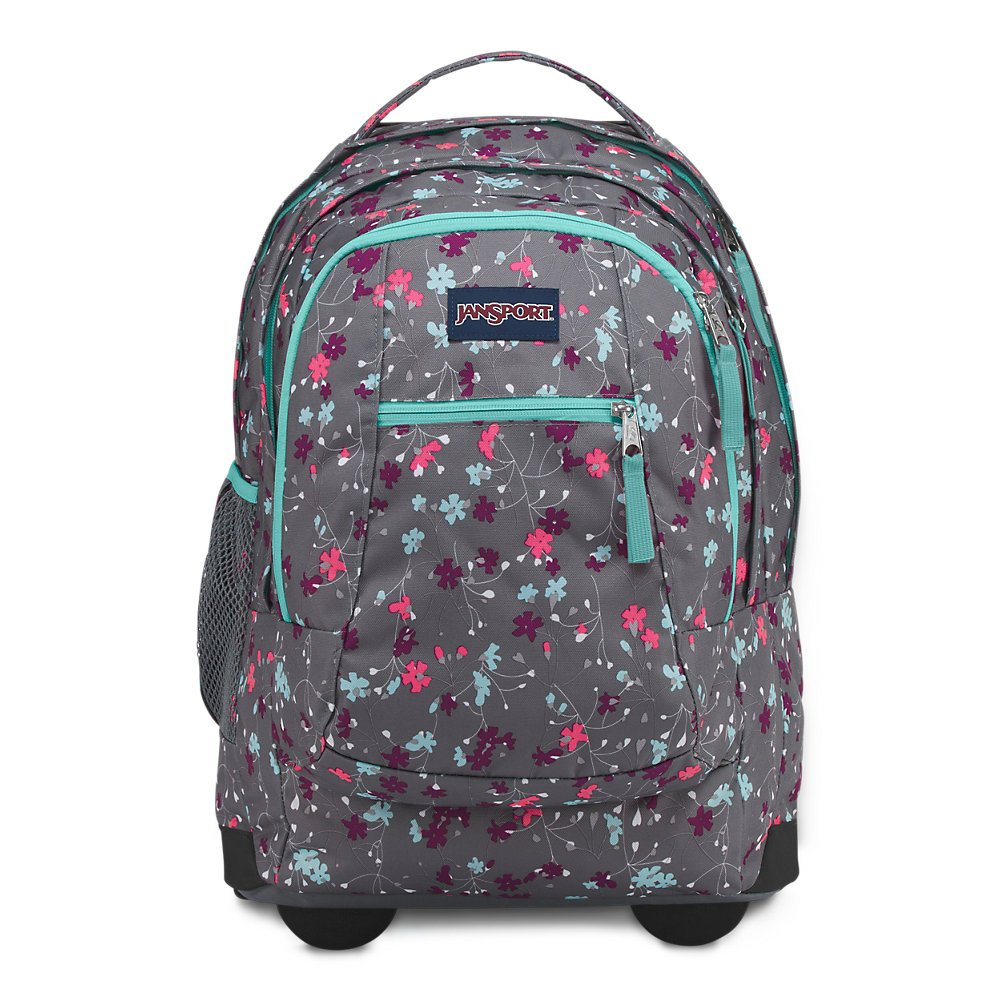 Galleon - Jansport Driver 8 Rolling Laptop Backpack - Spring Meadow 1640af0feeda1