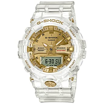 info for a37bf fac51 Amazon.com  G-Shock Men s GA-835E-7ACR Clear Gold One Size  Watches