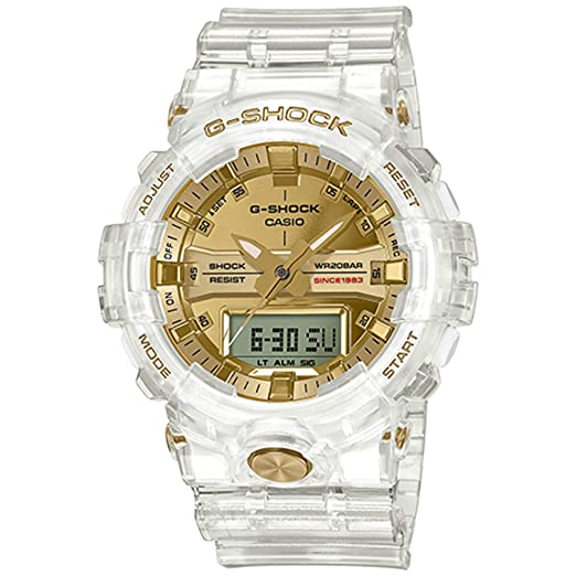 d9baaa7defa9 G-Shock By Casio Men s Limited Edition GA835E-7A Watch Clear Gold ...