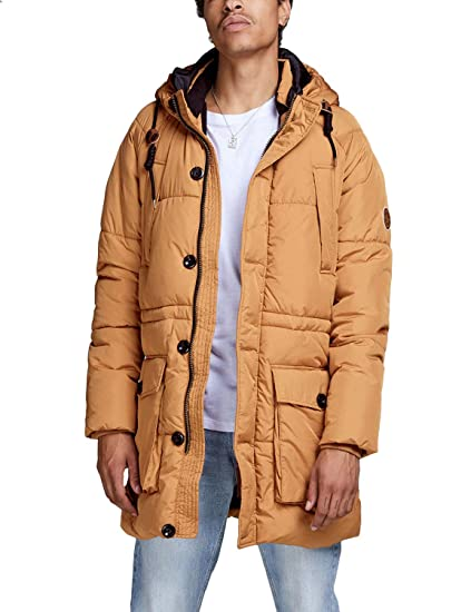 162c35dd1a85b1 JACK   JONES Male Winterparka JORFORTUNE Parka Jacket  Amazon.de ...