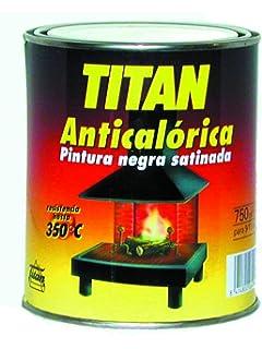 Titan M71753 - Pintura anticalorica negra 750 ml