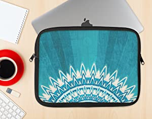 The Blue Spiked Orb Stylish Soft Case Protective Laptop Sleeve 10-10.8 Inch MacBook Air Case MacBook Pro Sleeve Laptop Bag