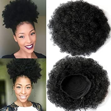 Amazon fashion natural ponytail african american afro short fashion natural ponytail african american afro short kinky curly wrap drawstring ponytail synthetic hair extensions pmusecretfo Choice Image