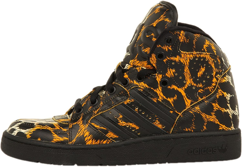 Adidas Herren Js Instinct Hi Leopard High-Top Schwarz