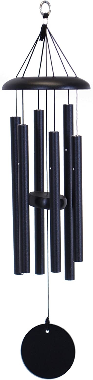 Corinthian Bells 27-inch Windchime, Black