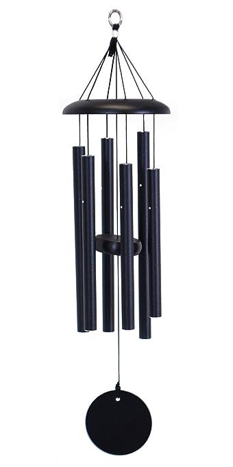 corinthian bells 27inch windchime black - Windchimes