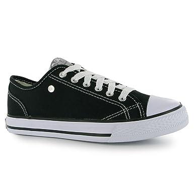 Tennis Chaussures Canvas Dunlop ChaussuresLeinenChaussuresSchwarz Femme Sneaker Sport Freizeit de 741 iOXPuTkZwl