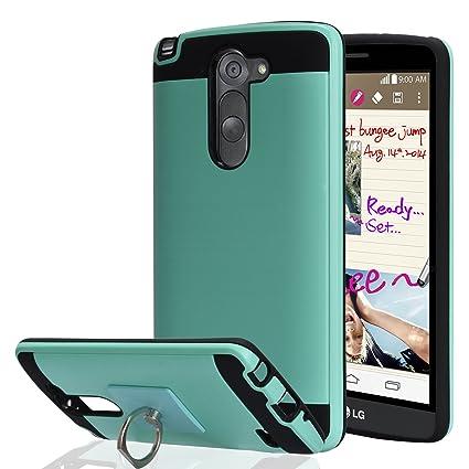Amazon.com: LG G3 Stylus/LG D690 funda con soporte de ...