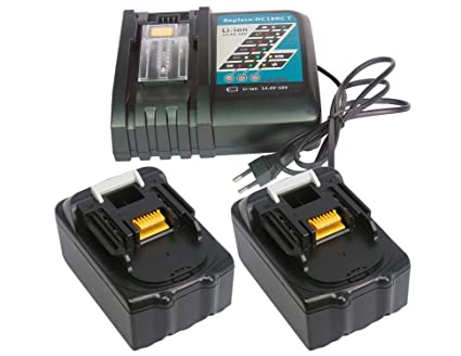 YASI MFG® 2 pieza Reemplazar Makita BL1850 18V 5000 mAh ...