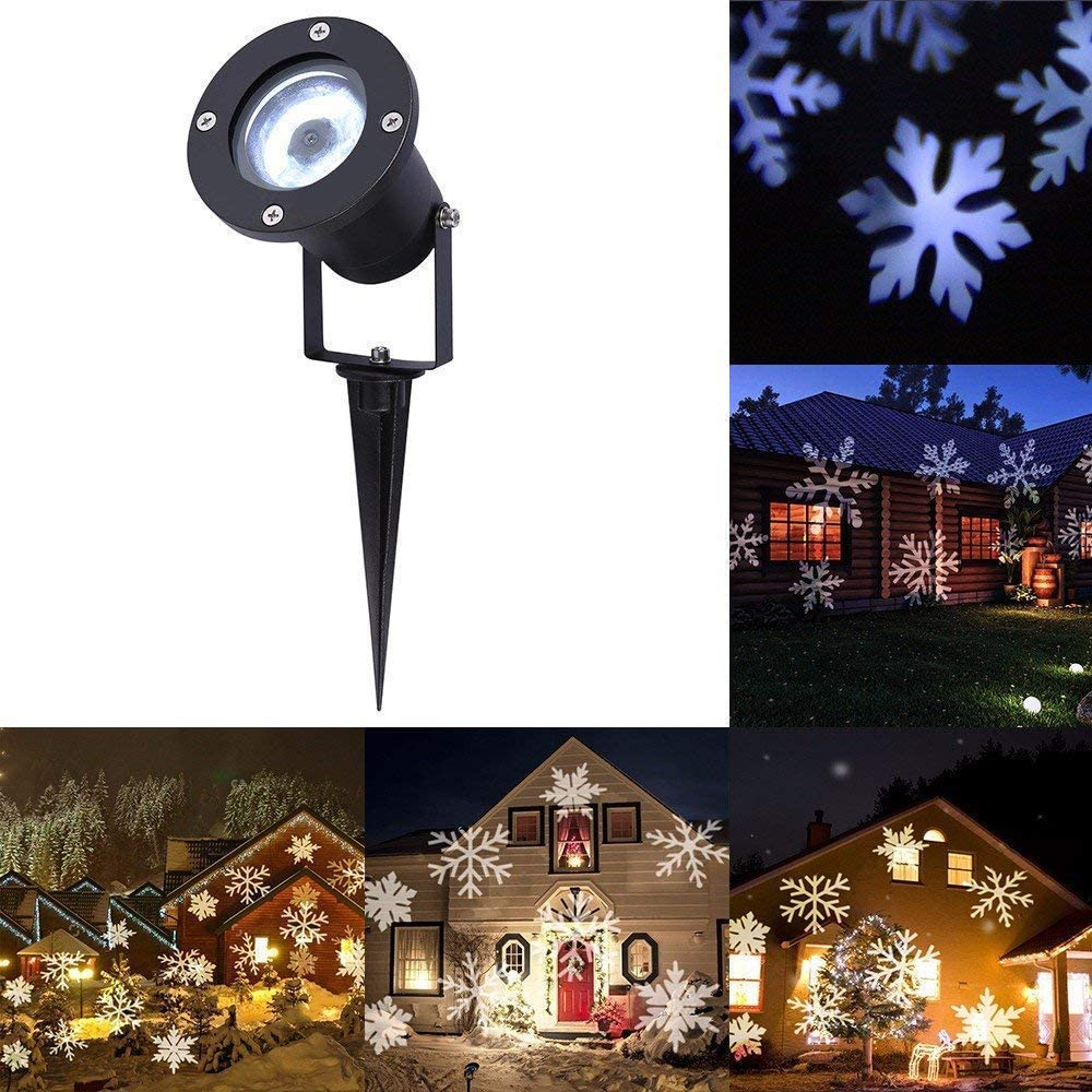 LED Halloween Xmas Projector Lights  Moving Christmas Landscape Lamp Outdoor US