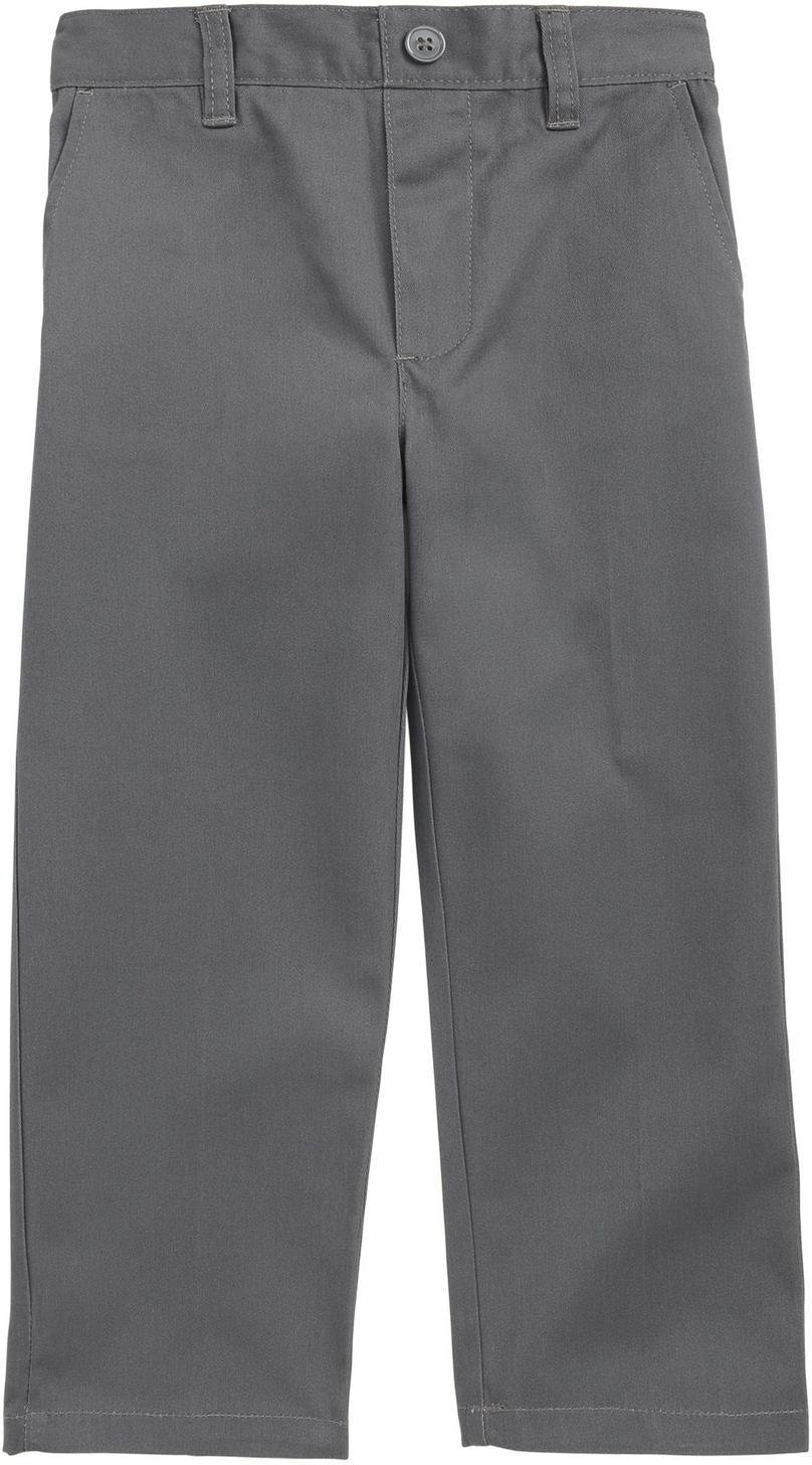 French Toast School Uniform Boys Pull On Pants, Gray, 4T