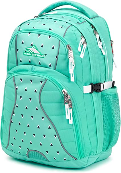 High Sierra Swerve Laptop Backpack Trendy Lightweight Heavy Duty Work School