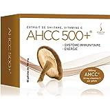 VF BioScience Symactive AHCC 500+, 764mg (dont 500mg d'AHCC et 20mg de Vitamine C), 60 Capsules Végétales