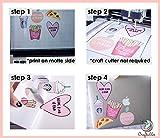 Craftables Waterproof Inkjet Sticker Paper - 10