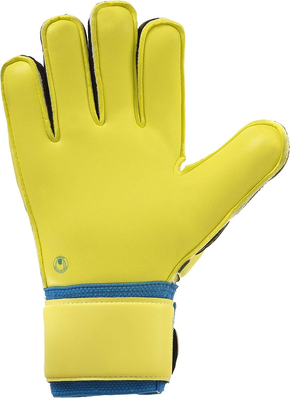 Lite fluo uhlsport Mens Speed Up Supersoft Goalkeeper Gloves Speed Up Supersoft Men