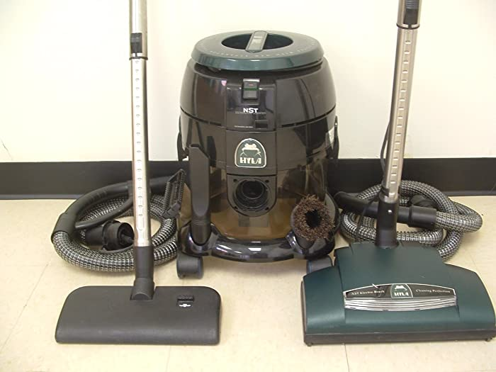 POWERFUL HYLA NST VACUUM WITH WATER FILTRATION AND BEST-EVER POWER NOZZLE!