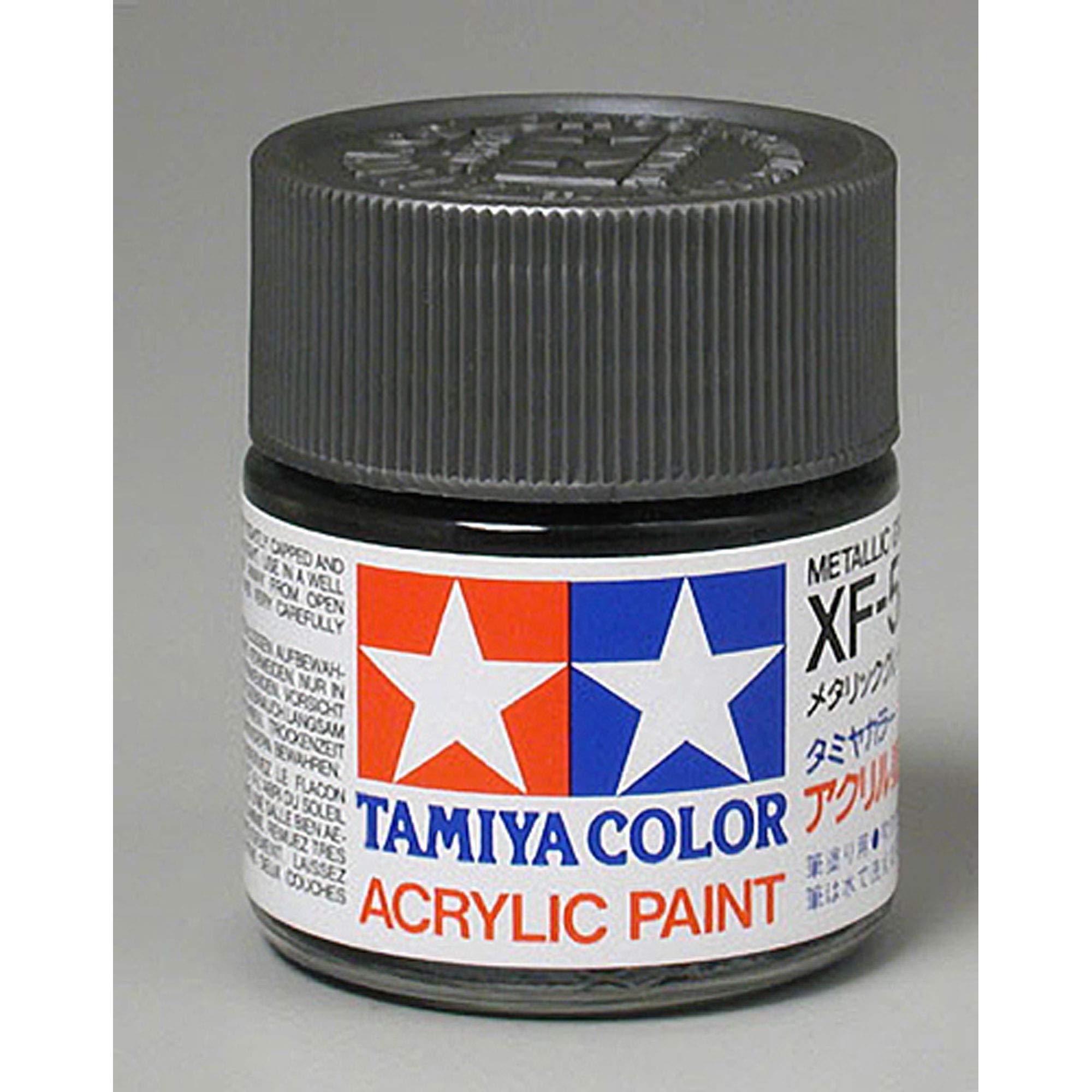 Tamiya Acrylic XF56, Flat Metal Gray TAM81356