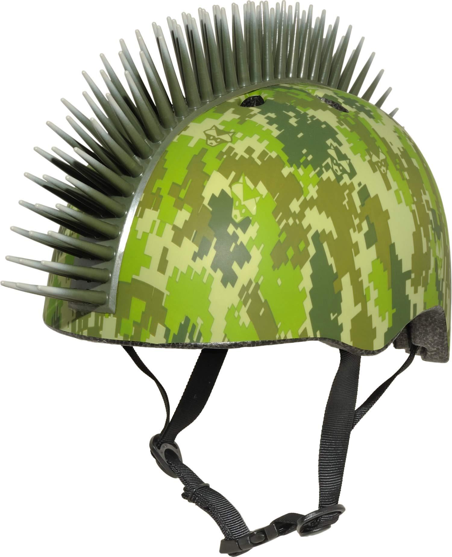 Raskullz Digital Camo Mohawk Helmet, 5+ (50-54cm) by Raskullz