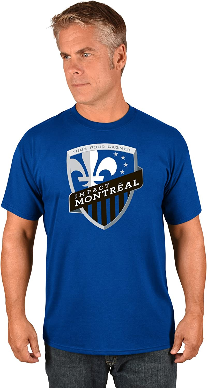 Majestic Montreal Impact MLS Mens Team Logo T-Shirt