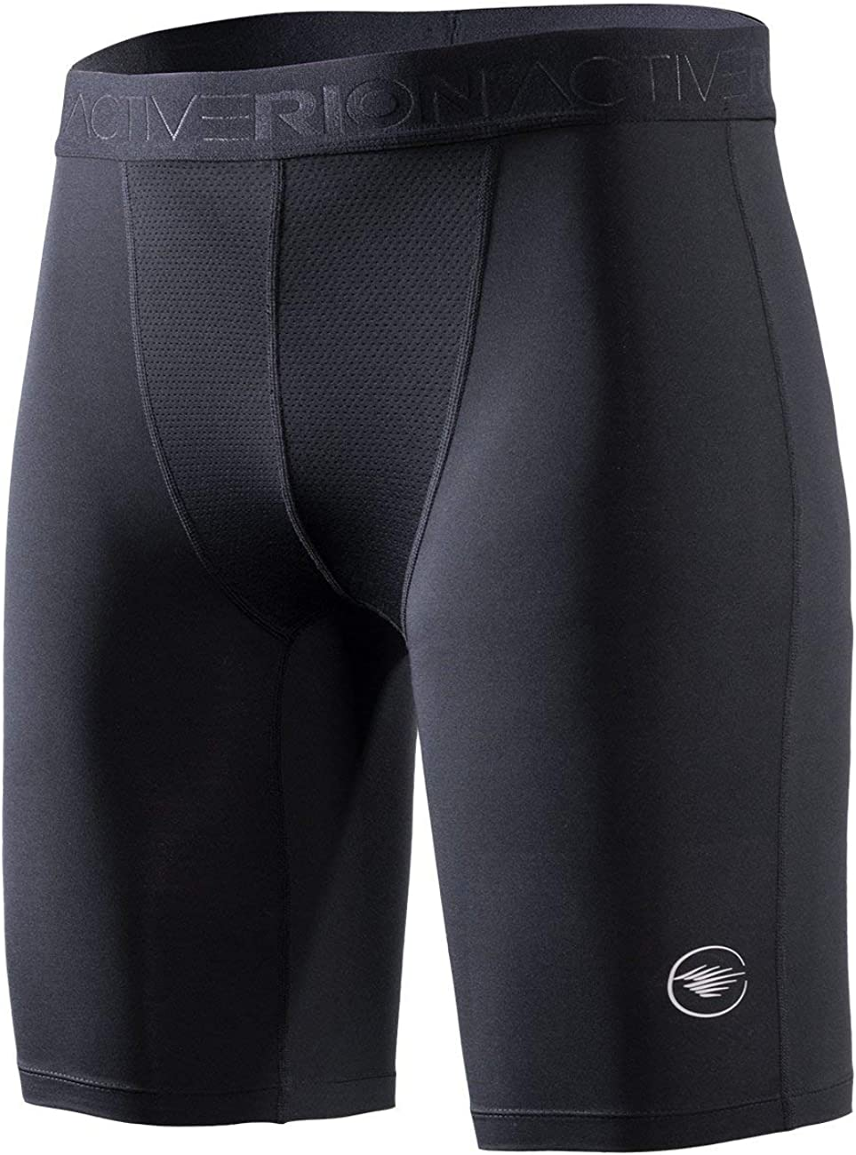 RION Active Men's Workout Compression Cool Dry Baselayer Shorts Tights