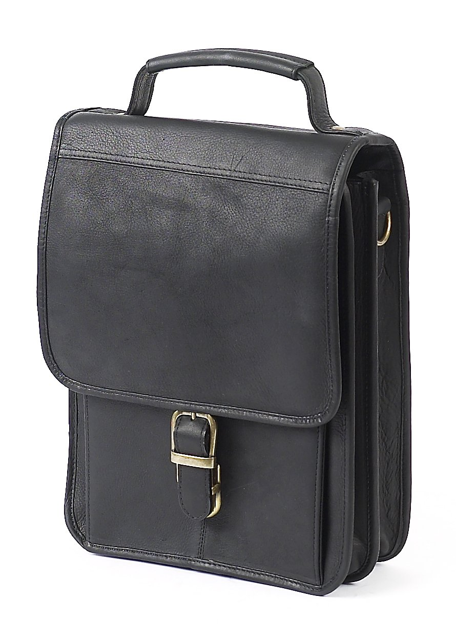 Claire Chase Mini-Computer Man Bag, Black, One Size by ClaireChase