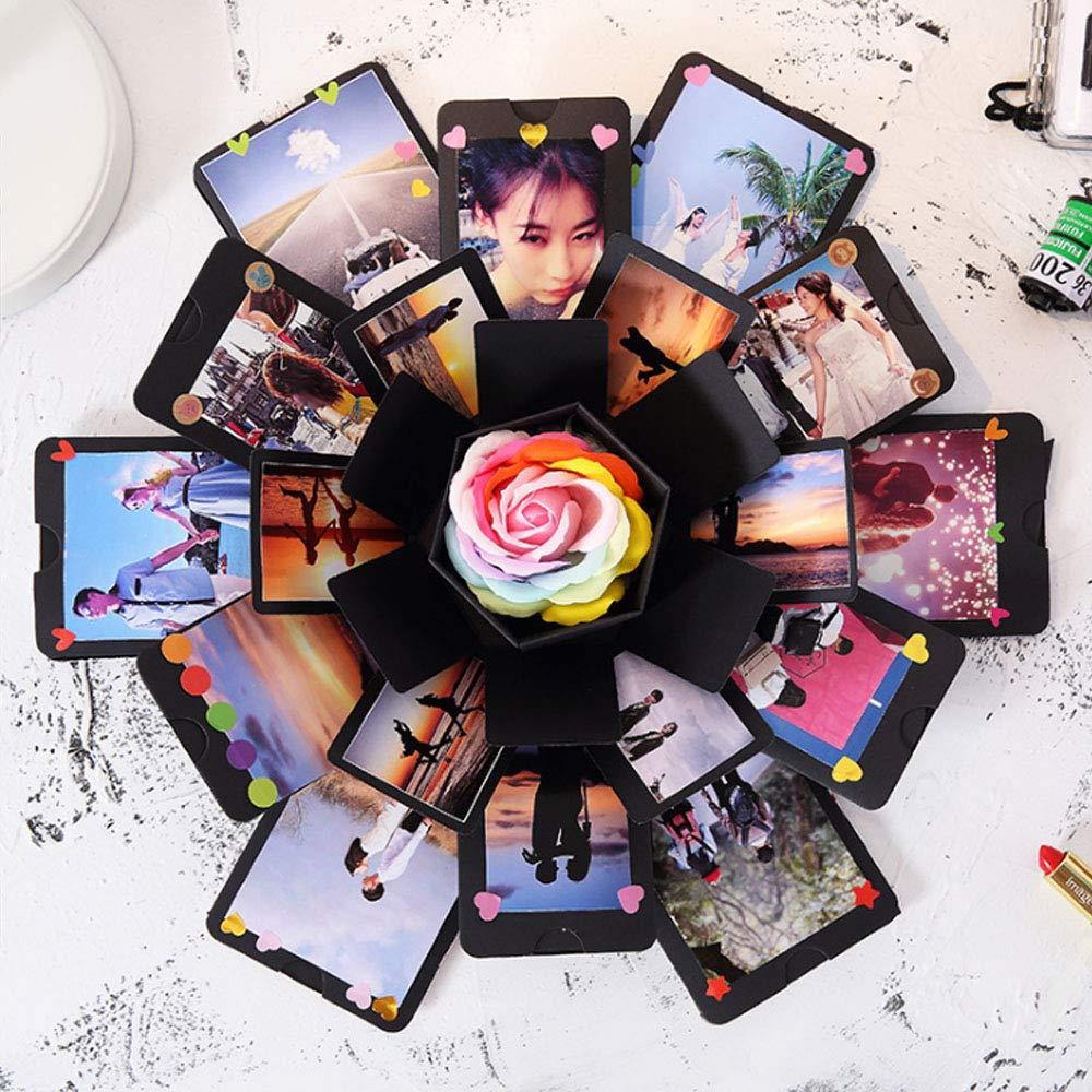 Festa della Mamma Explosion Box DIY Photo Album Creativo Album Scrapbook per Matrimoni Compleanno Anniversario,San Valentinoi