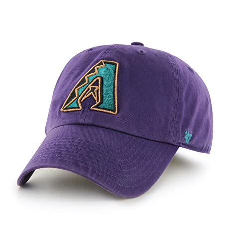 f24890ed435ac Image Unavailable. Image not available for. Color  Arizona Diamondbacks 47  Brand MLB Cooperstown Clean Up Adjustable Hat