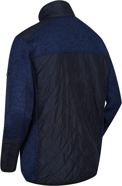 Regatta Zavid Full-Zip Water Repellent Thermo-Guard Insulated Marl Fleece Forro Polar Hombre