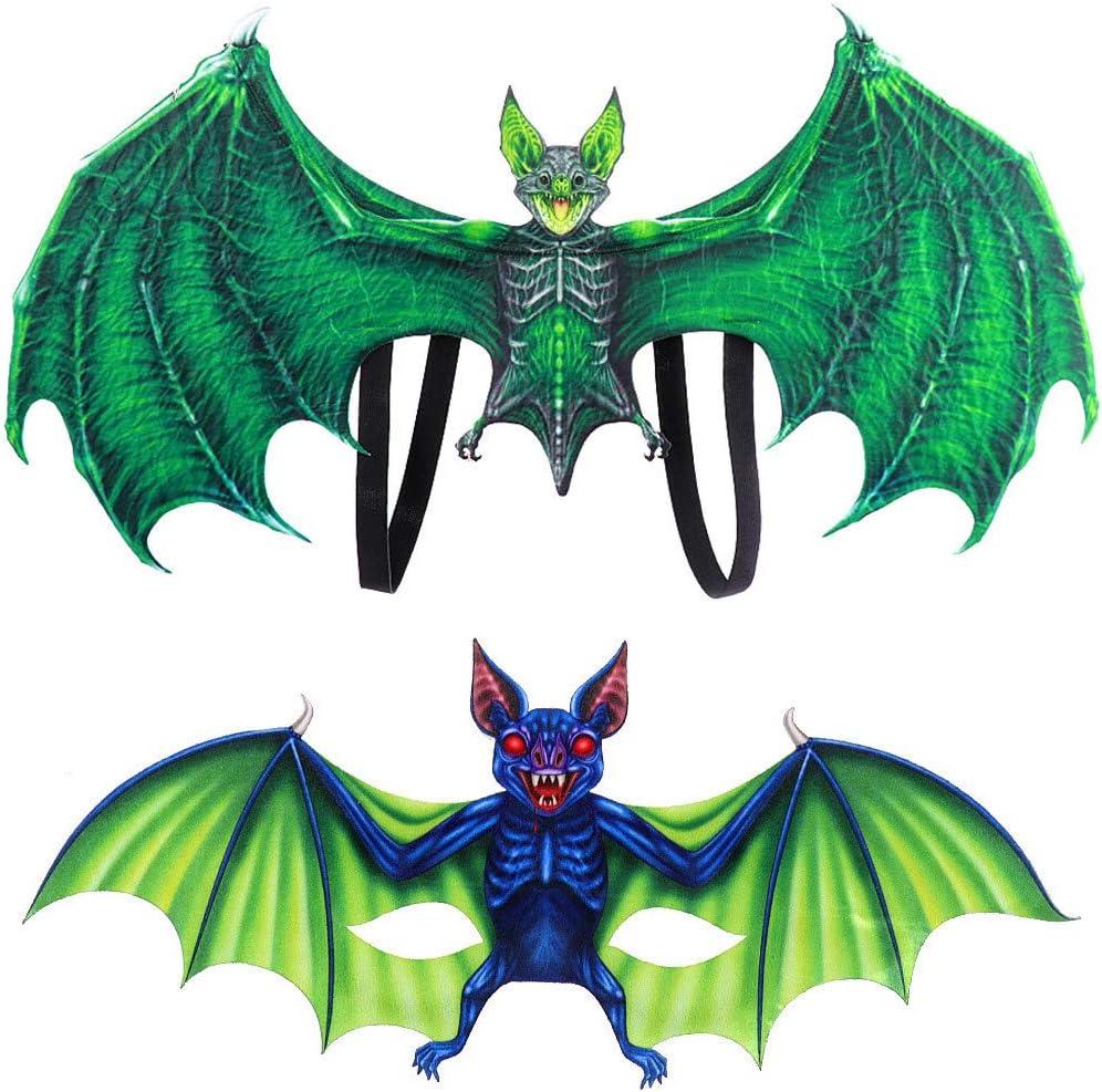 DAGE Disfraz de dragón, Disfraz de Bate de Halloween para niños ...
