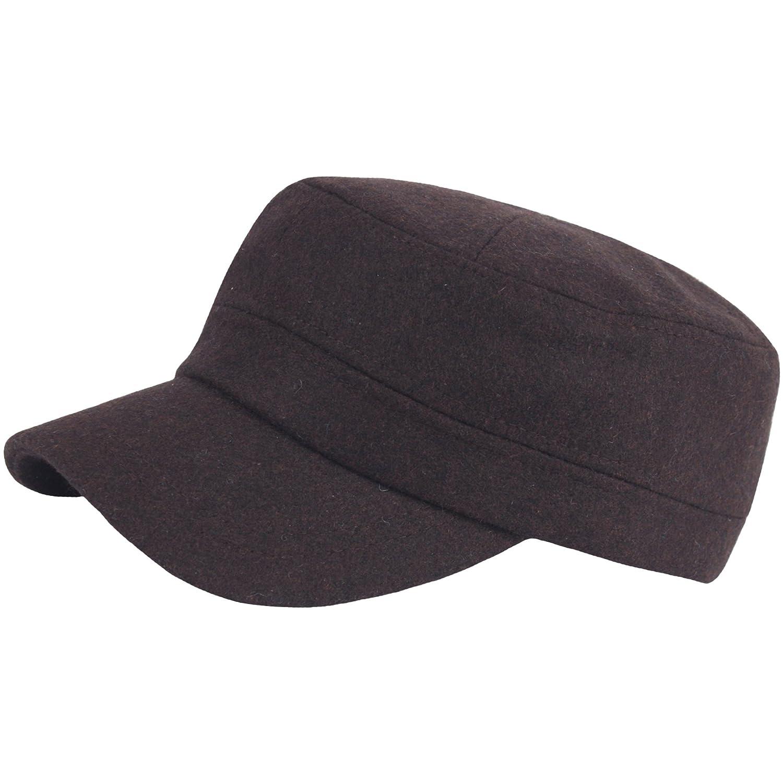 a108新しいファッションウール冬暖かいシンプルなデザインClub ブラウン ArmyキャップCadet Military B077RVLLXV Hat B077RVLLXV Military ブラウン ブラウン, 香水フレグランスPARFUM de EARTH:f58ed211 --- jpworks.be