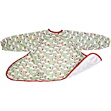 Long Sleeve Weaning Bib, Tidy Tot Waterproof All Over Coverall Smock for Baby Led BLW, Full Coverage Shirt Apron with Sleeves