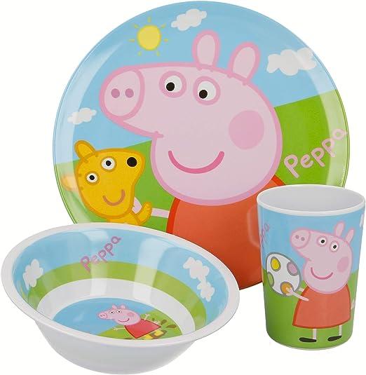 STOR SET MICRO BABY 2 PCS. CUENCO Y CUCHARA PEPPA PIG