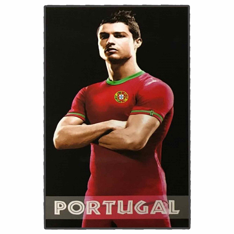 Cristiano Ronaldo - Toalla de Playa Gigante de fútbol de Portugal (180 x 100 cm): Amazon.es: Deportes y aire libre