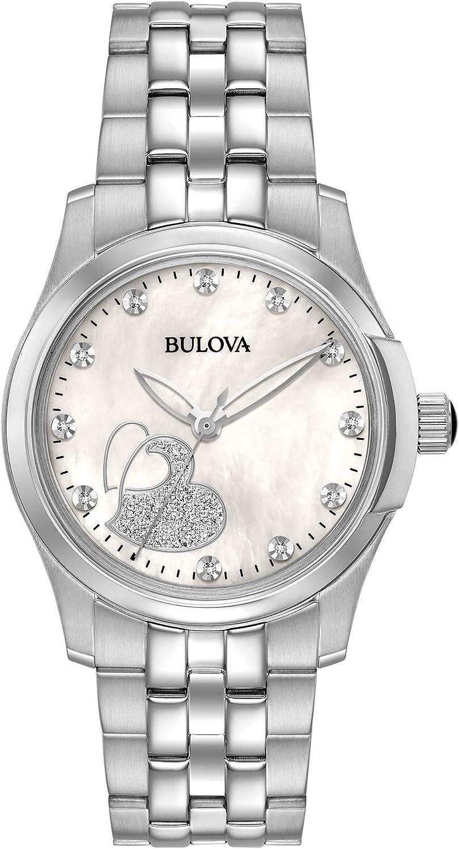 Bulova Reloj de Pulsera 96P182