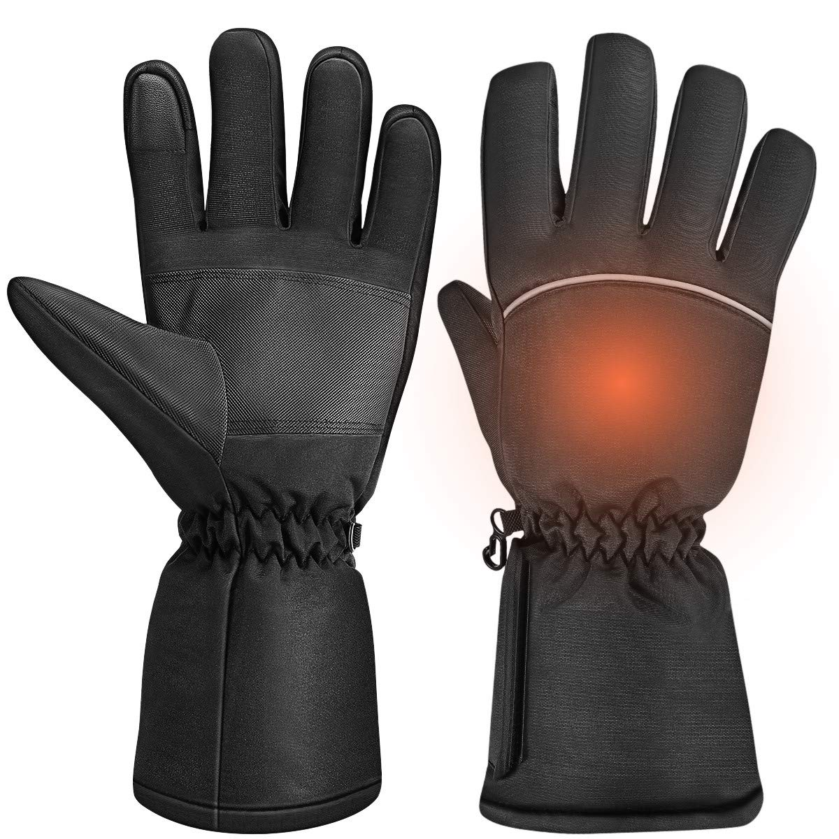 Clispeed Unisex Heated Gloves Touchscreen Warm Glove Hand Warmers for Winter Outdoor Camping Hiking Hunting by CLISPEED